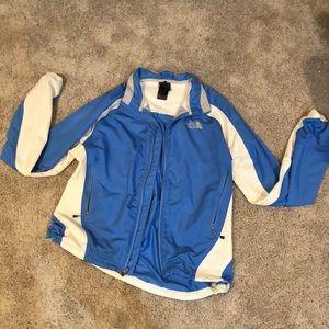 Lightweight zip up jacket